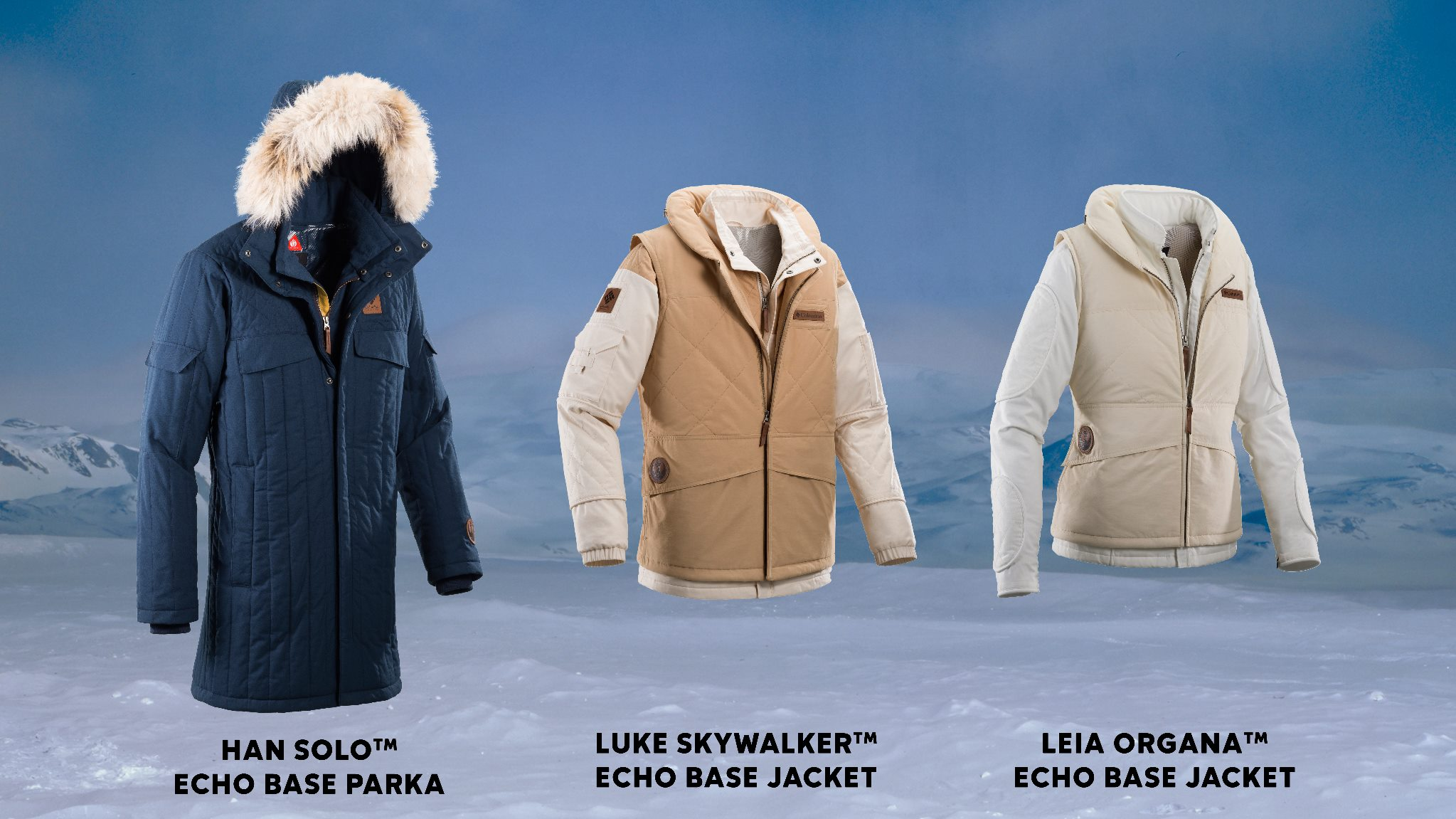 Columbia Echo Base Collection Star Wars Jackets The Coolector Visval Khaki Are Available In A Number Of Different Styles Taking Their Inspiration From Worn By