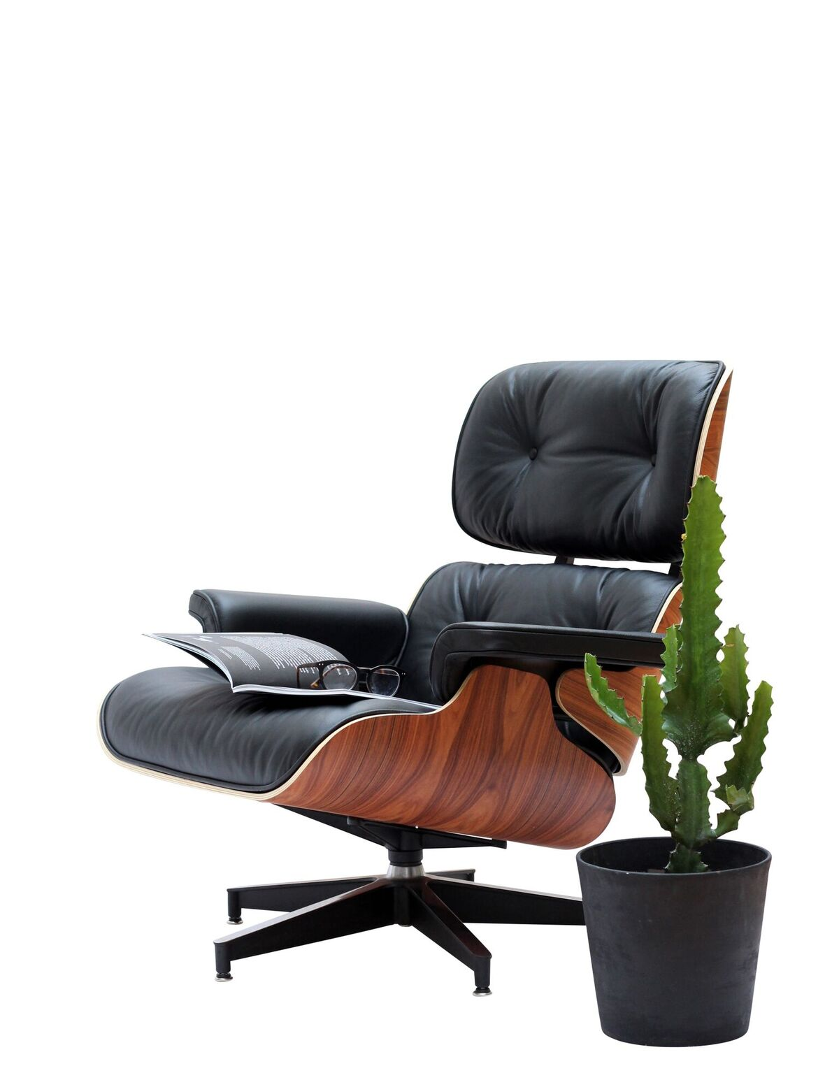 Admirable Pash Classics Eames Lounge Chair Ottoman The Coolector Machost Co Dining Chair Design Ideas Machostcouk