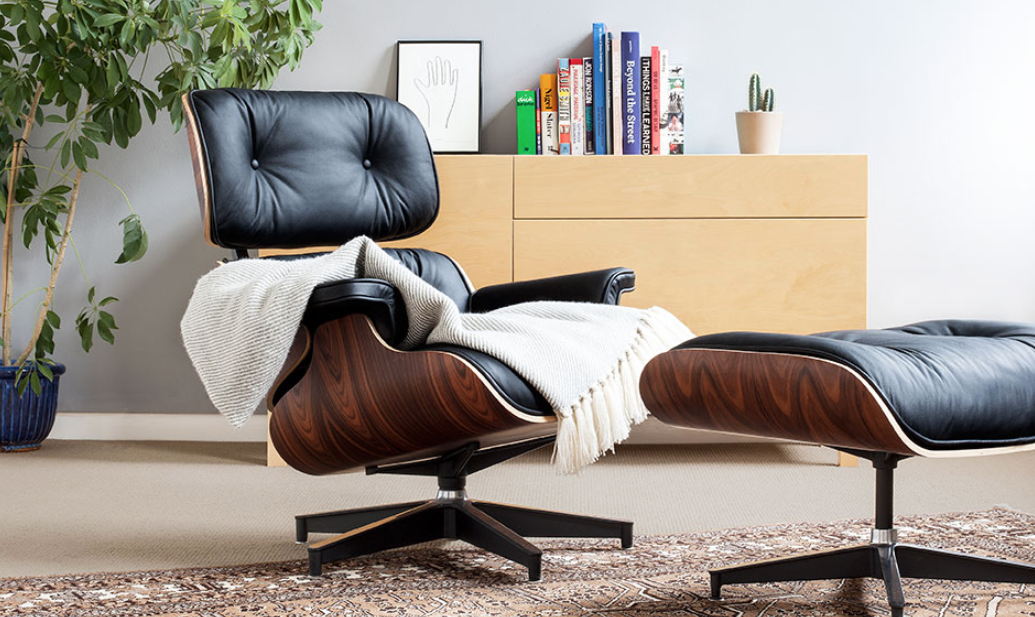 Excellent Pash Classics Eames Lounge Chair Ottoman The Coolector Creativecarmelina Interior Chair Design Creativecarmelinacom