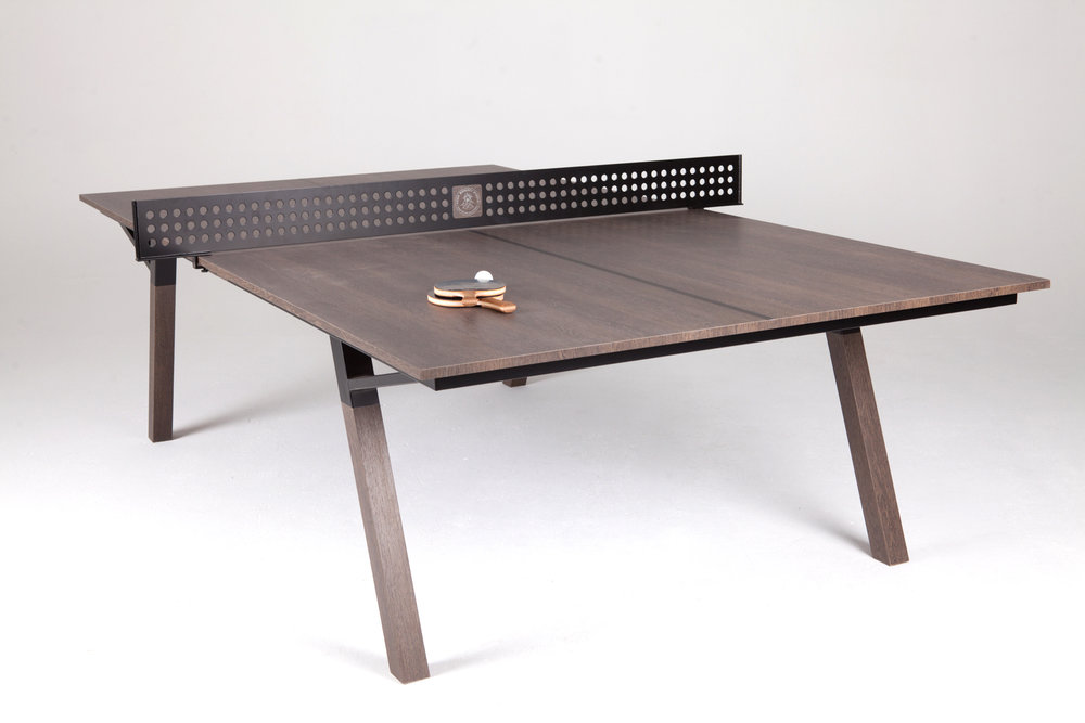 Woolsey outdoor ping pong table the coolector - Used outdoor table tennis tables for sale ...