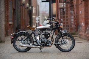 Janus Halcyon 250 Motorcycle