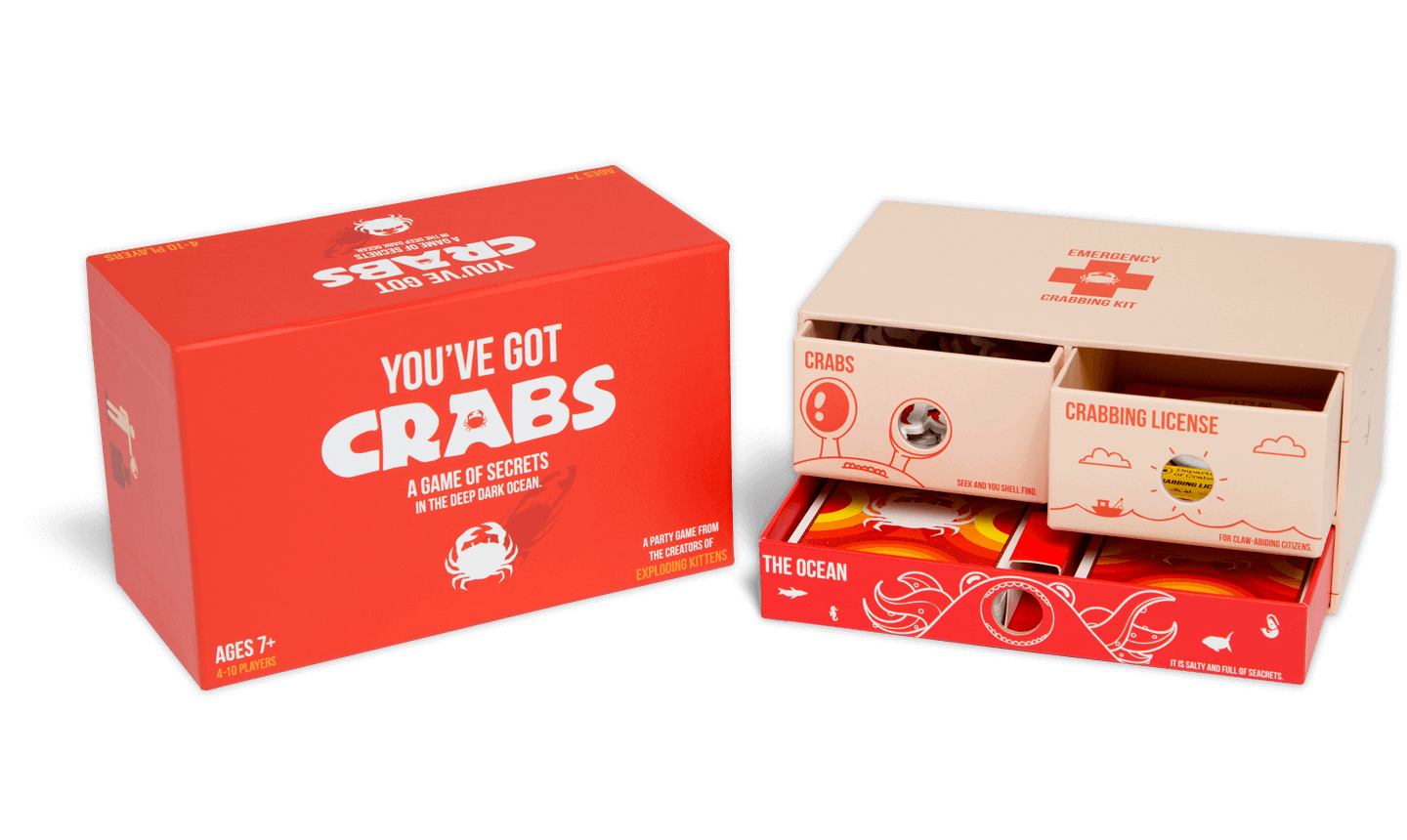 You've Got Crabs Card Game | The Coolector