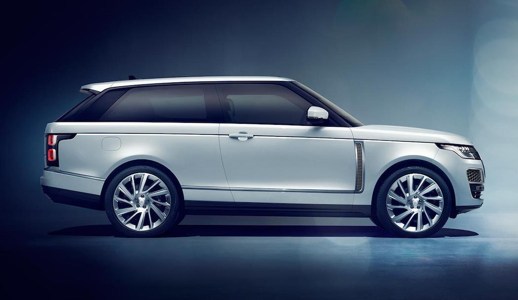 land rover range rover sv coupe the coolector. Black Bedroom Furniture Sets. Home Design Ideas