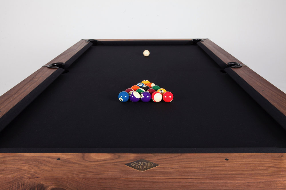 Sean Woolsey Pool Table The Coolector - Handmade pool table