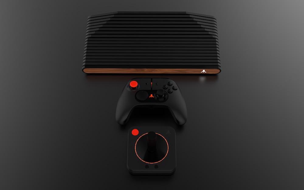 Atarivcs video game console the coolector - Original atari game console ...