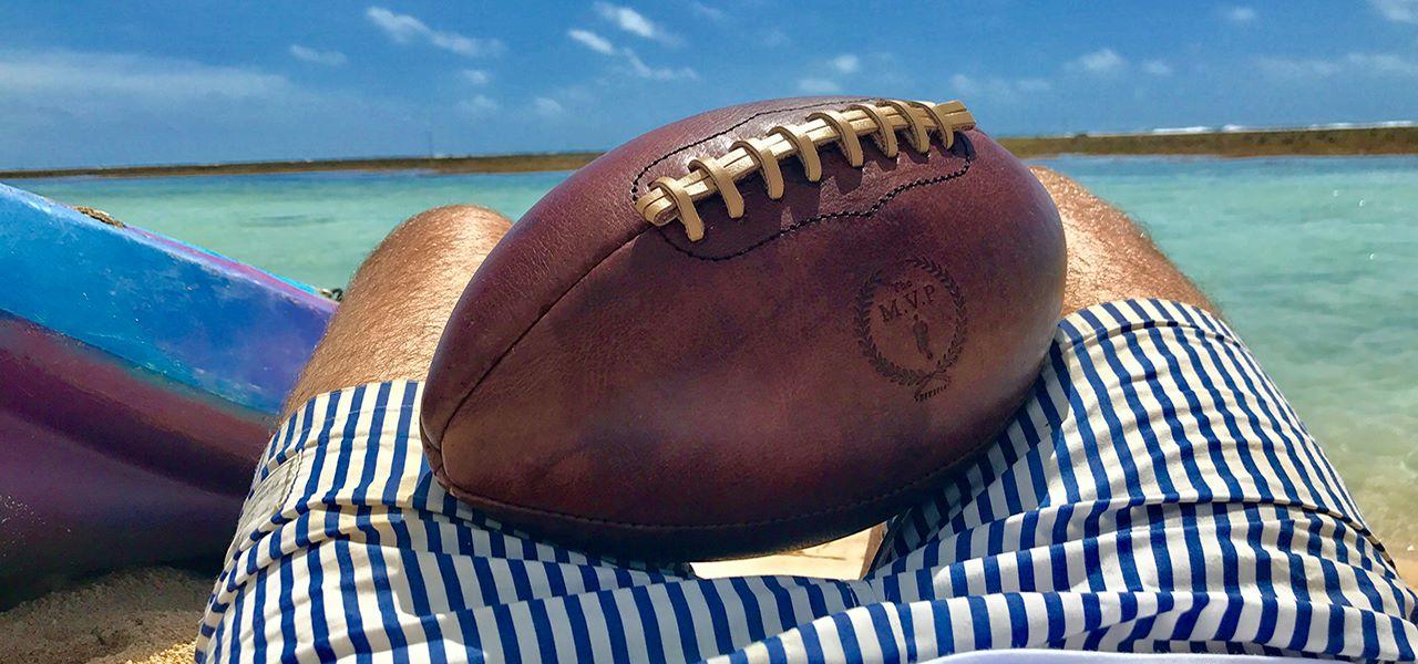 Vintage american football