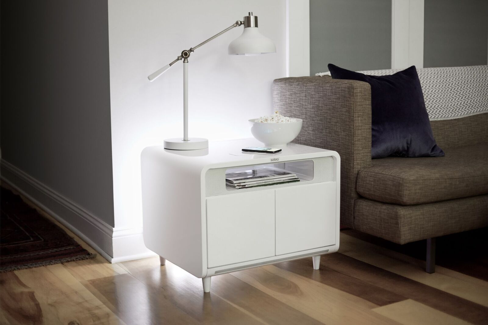 Sobro Smart Side Table The Coolector
