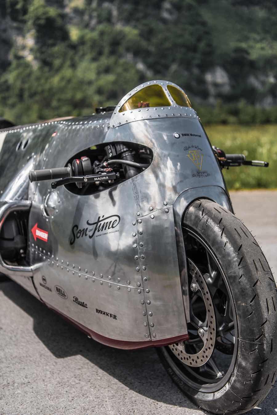 BMW Motorrad Spitfire Monster Bike   The Coolector