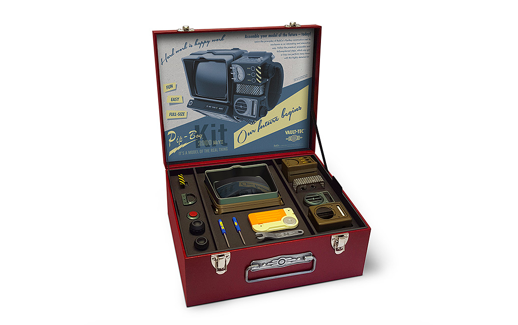 Fallout 76 Pip Boy 2000 Construction Kit The Coolector