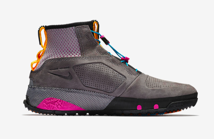 ecb6612495a6 The Nike ACG RUCKEL RIDGE GO OUTSIDE Boots have been designed by long-time  Nike Footwear designers
