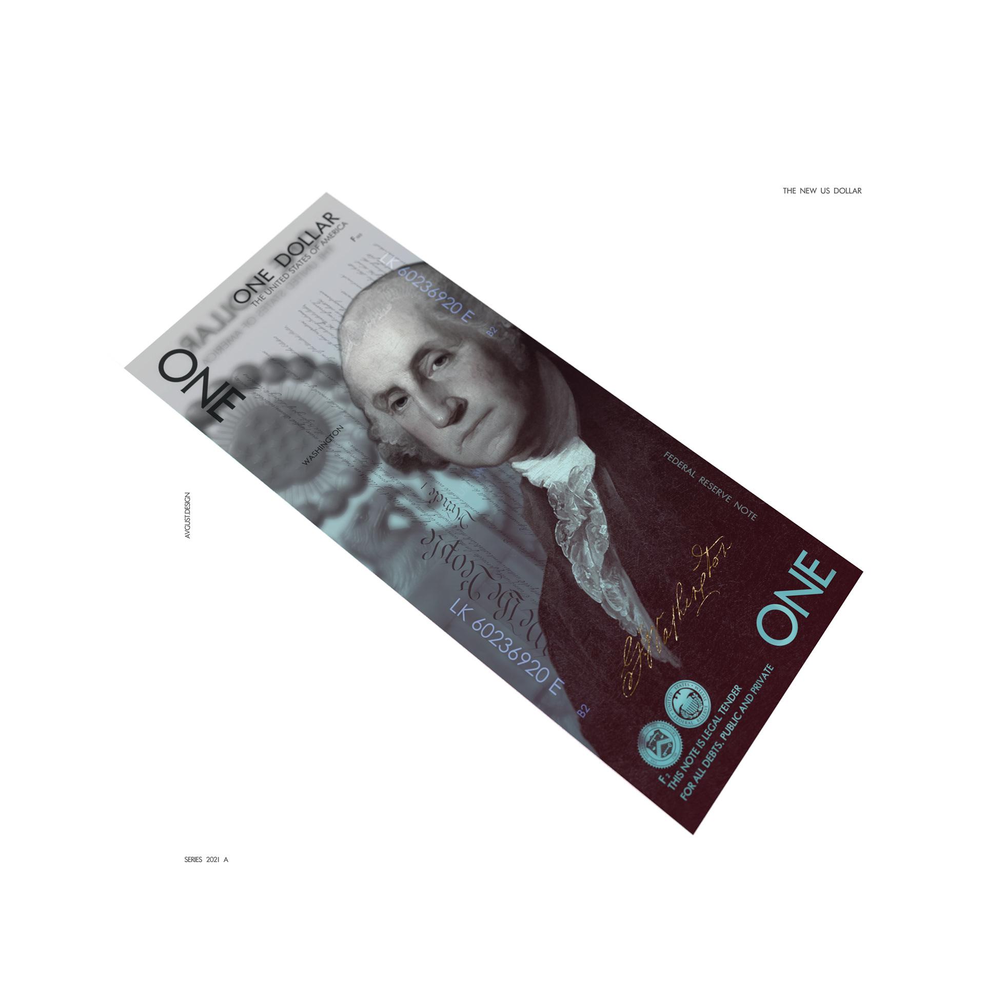 Белорус предложил новый дизайн американских долларов 2