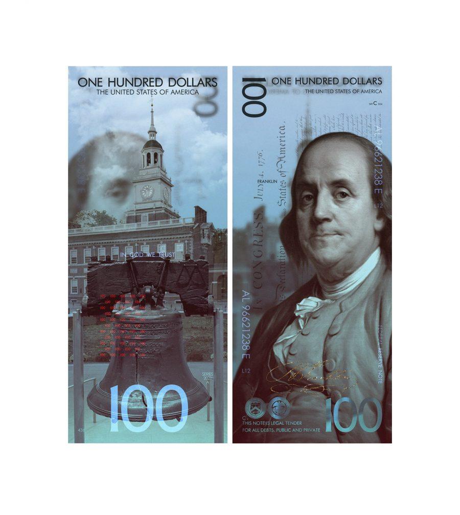 Белорус предложил новый дизайн американских долларов 1
