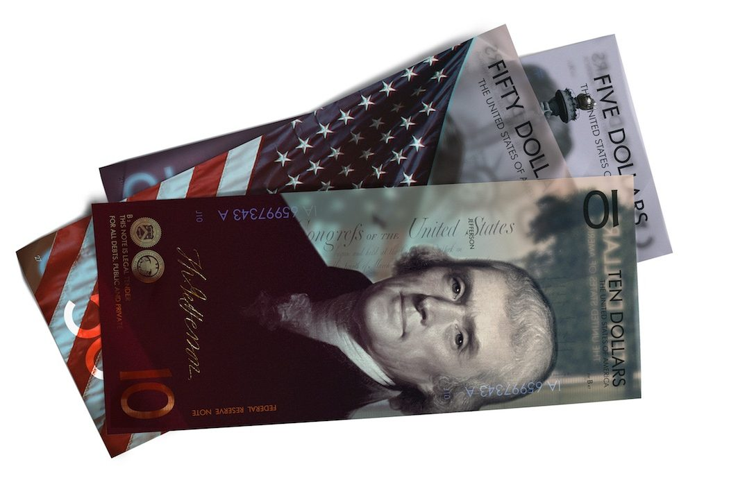 New Us Dollar Concept Design The