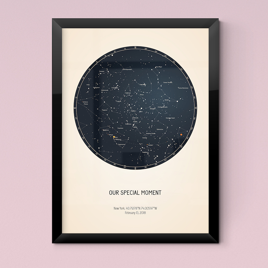 Strellas Star Maps - How to read a star map