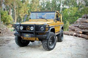 "Legacy Overland 1990 Mercedes Benz G ""Wolf"""