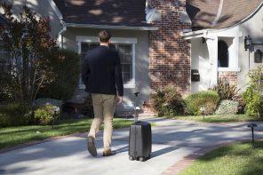 ForwardX Ovis AI Powered Follow Suitcase