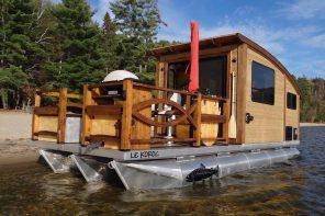 Daigno Le Koroc Tiny House Boat