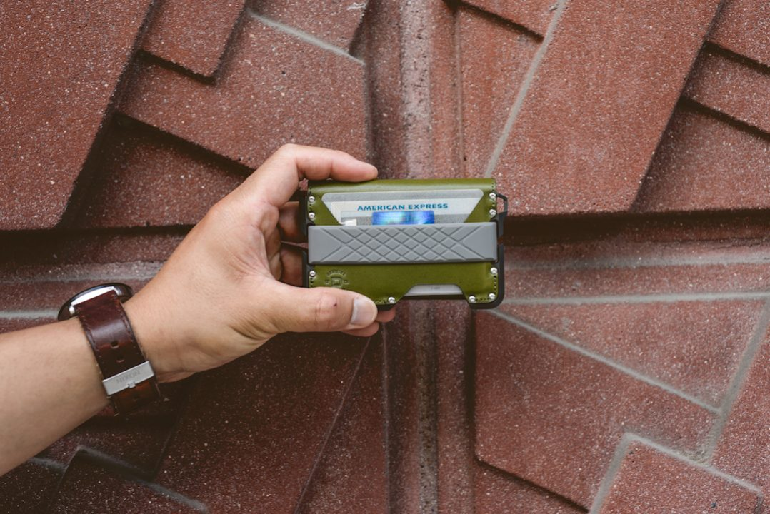 Dango D01 Dapper BiFold Wallet Green Black Made in USA Brown