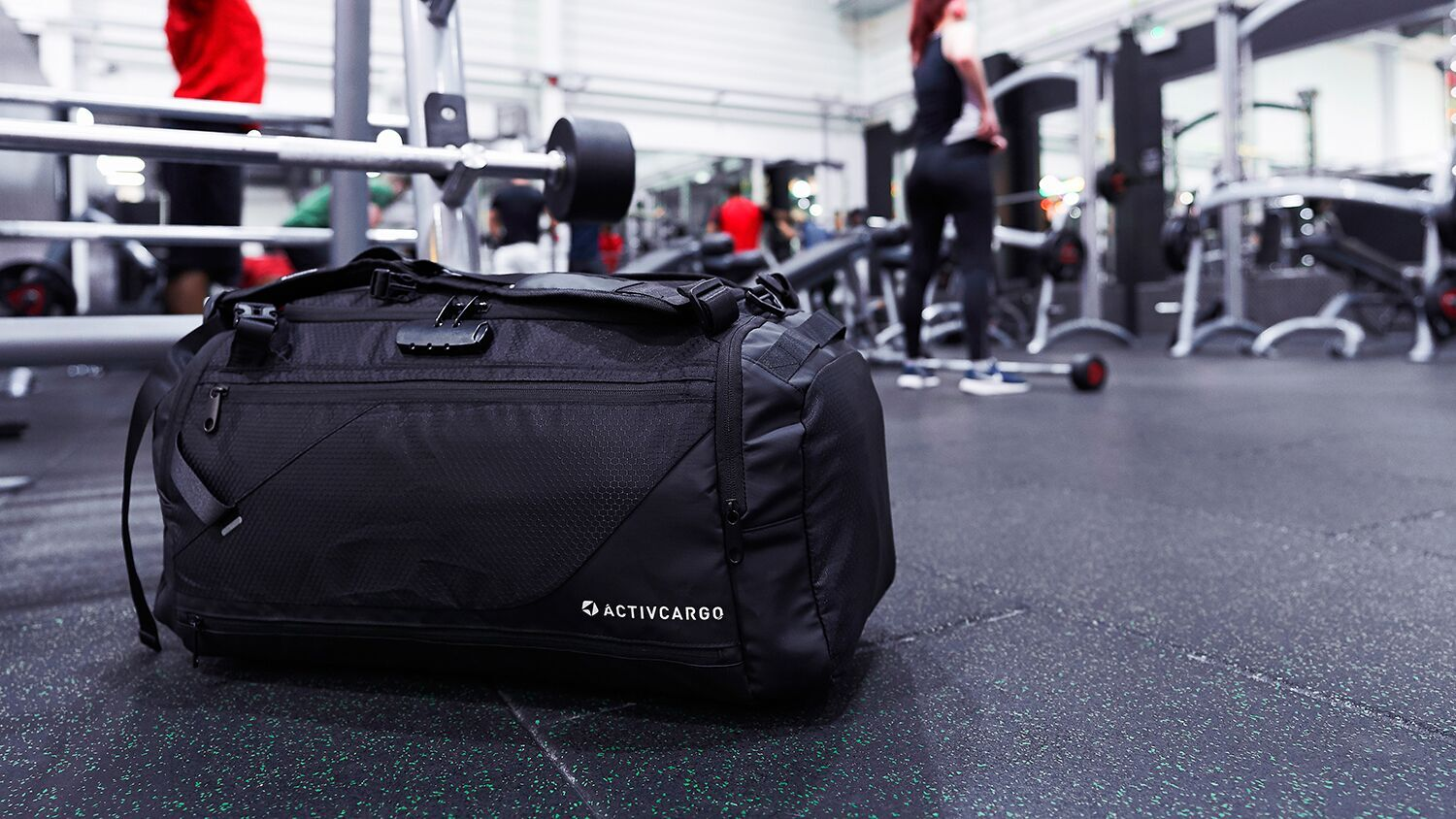 ACTIVCARGO Anti-Theft Sports Bag | The Coolector