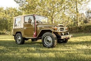 Legacy Overland 1982 Toyota Land Cruiser BJ40 Convertible