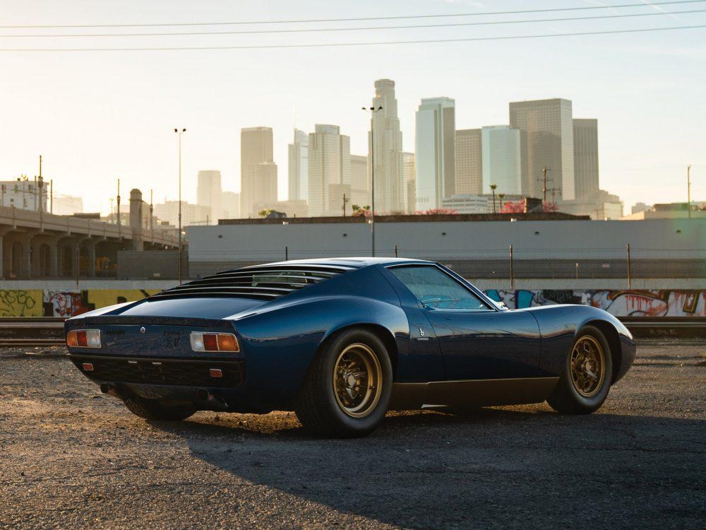 1971 Lamborghini Miura P400 Sv By Bertone The Coolector