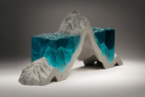 Ben Young Broken Liquid Sculptures