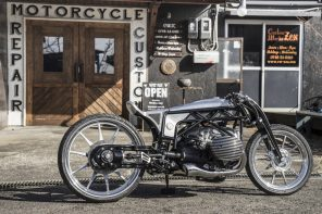 BMW Motorrad Departed Motorbike