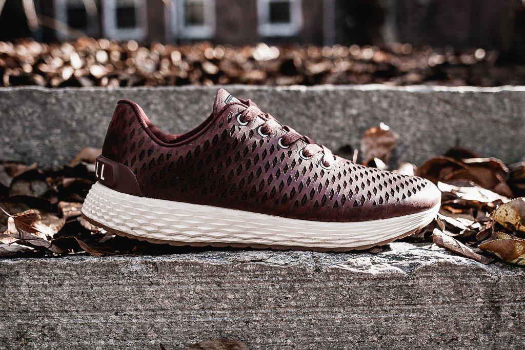 NOBULL Leather Runner Sneakers   The