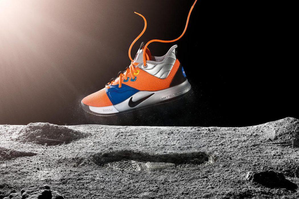 98d0c71baad Nike Paul George NASA Sneakers