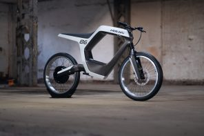Novus Electric Motorcycle