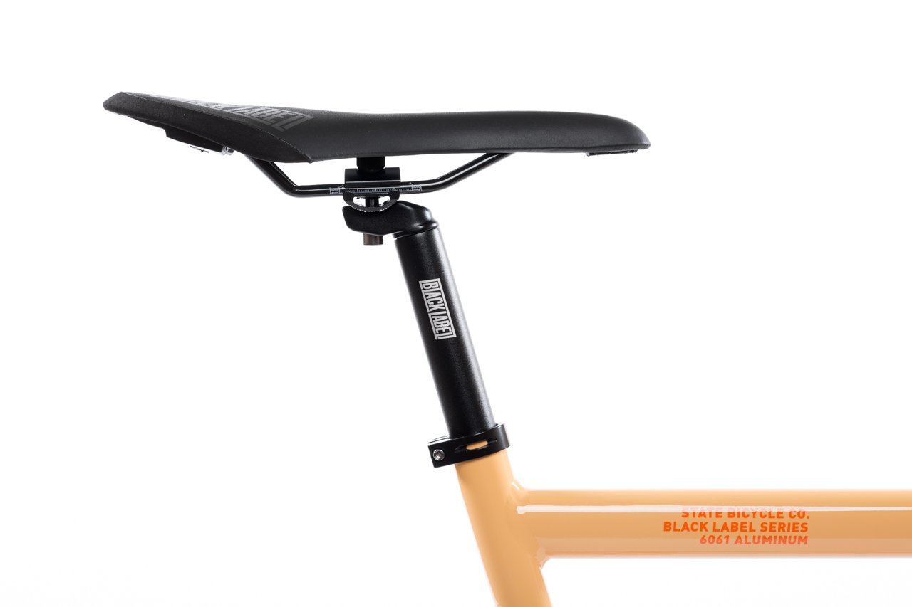 State Bicycle Co 6061 BLACK LABEL V2 Bike in PEACH | The Coolector