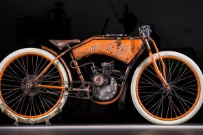 Bull Motor Co Board Track Racers