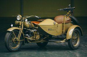Rikuo Type 97 Motorcycle
