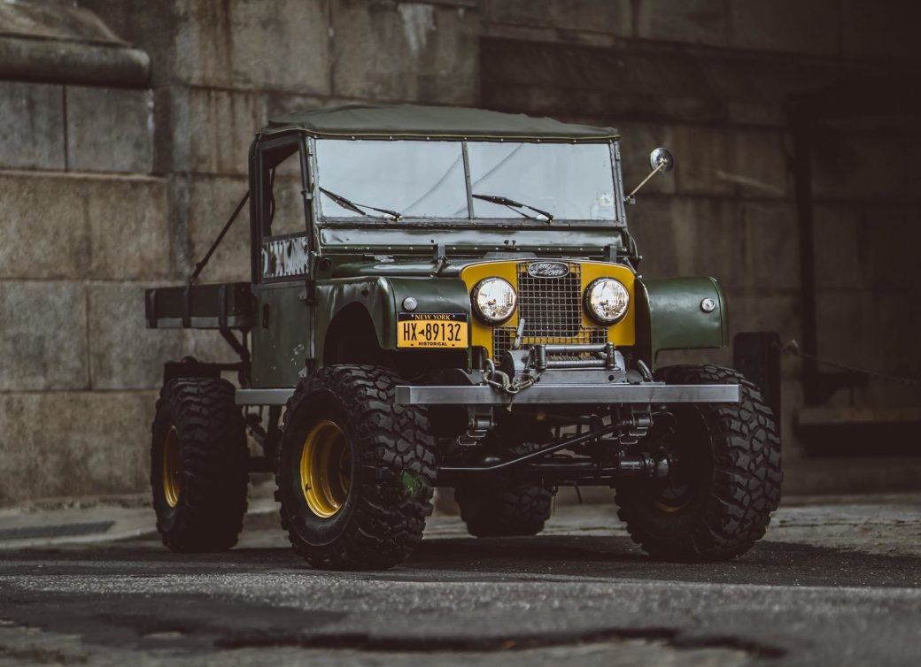 Brooklyn Coachworks Land Rover Series One 107 Ute The