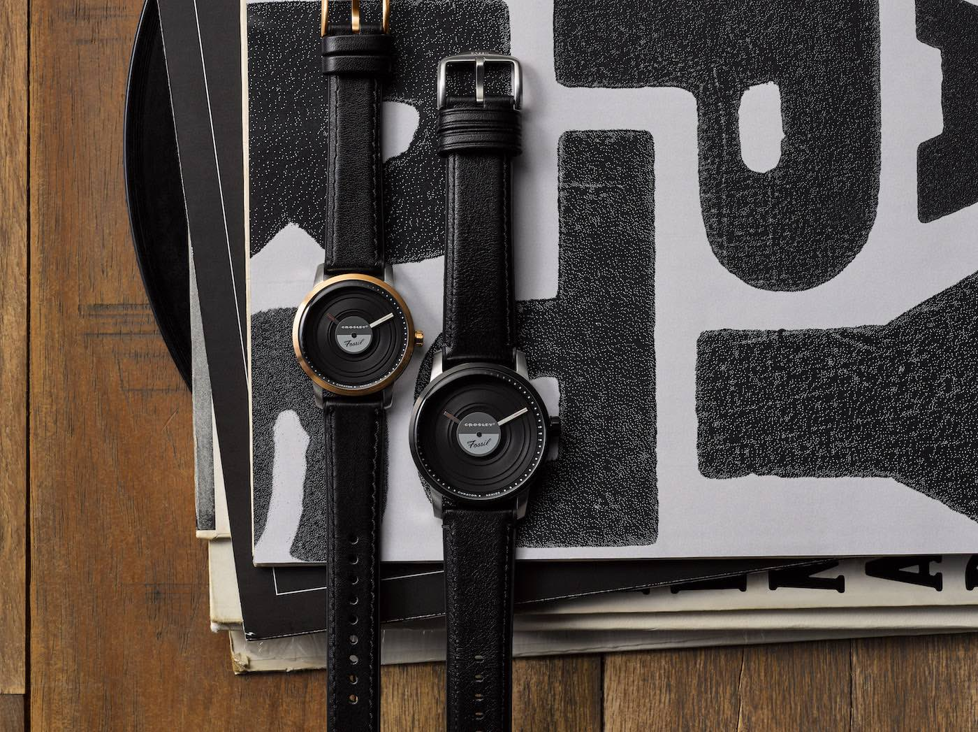 Crosley x Fossil Watches | The Coolector