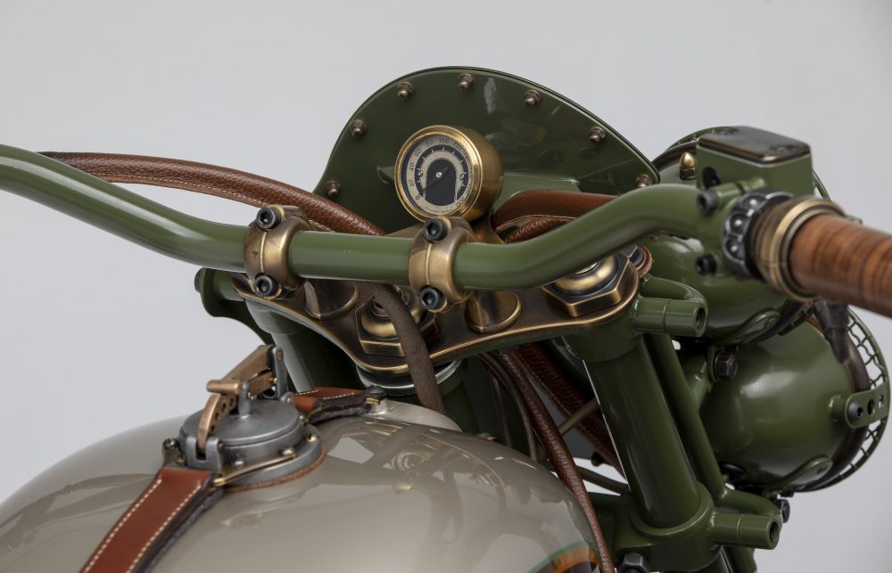 Le Mani Moto Custom 2WD Ural Sidecar Motorcycle | The Coolector