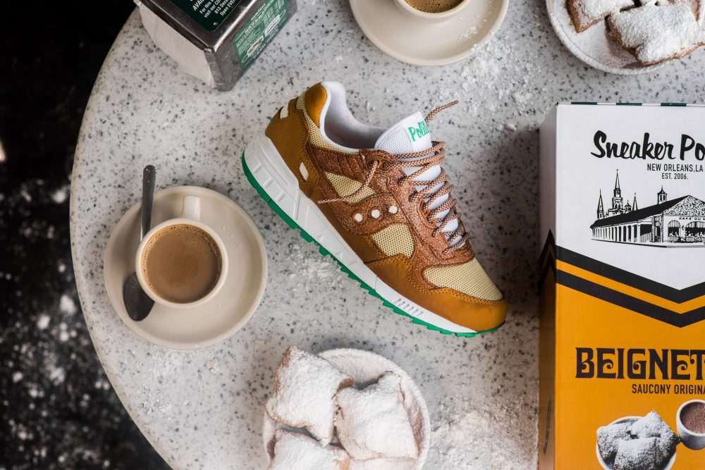 Sneaker Politics x Saucony x Cafe Du