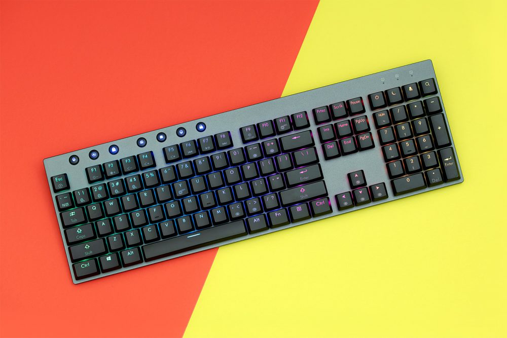 VENTURE ULTRA-THIN BLUETOOTH MECHANICAL KEYBOARD | The Sinsa The