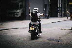 Angry Lane x Pacsafe Black Rider Daypack