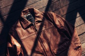 Deus Ex Machina Patrol Leather Jacket