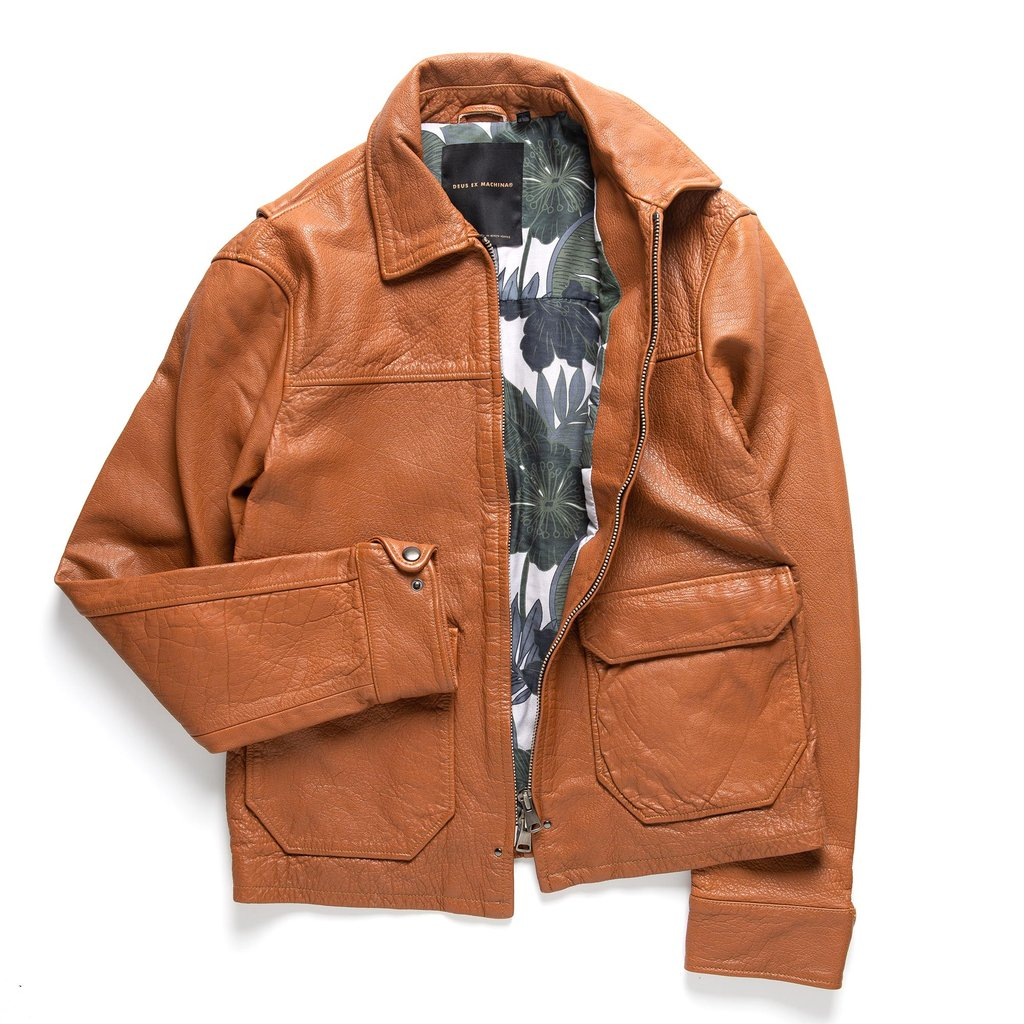34f87c998 Deus Ex Machina Patrol Leather Jacket | The Coolector