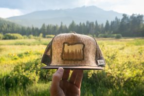 Rustek Wooden Trucker Caps
