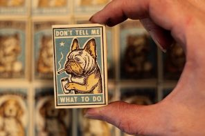 Ravi Zupa Dog Matchboxes