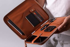 Harber Nomad Leather Organiser for iPad Pro 11