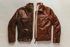 Taylor Stitch Moto Jacket in Whiskey Steerhide