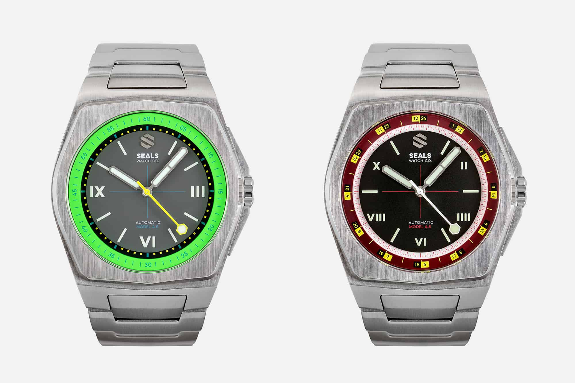Seals Watch Co Model A.5 Automatic Watch | The Coolector