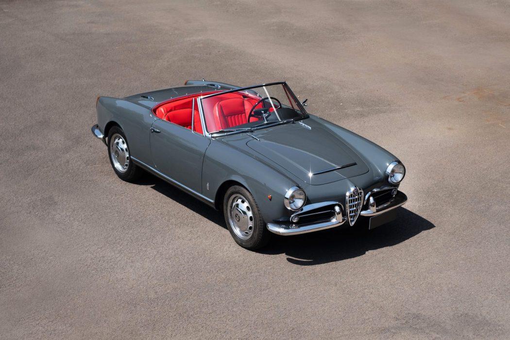 Alfa Romeo Giulia Spider 1600 Veloce The Coolector