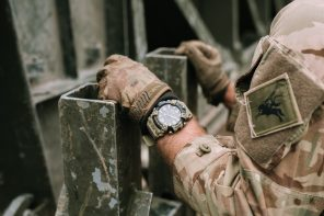 British Army x G-SHOCK MudMaster Watch