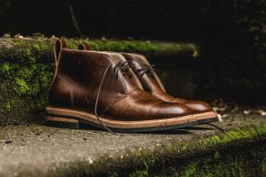 Taylor Stitch Chukka Boots in Whiskey Eagle