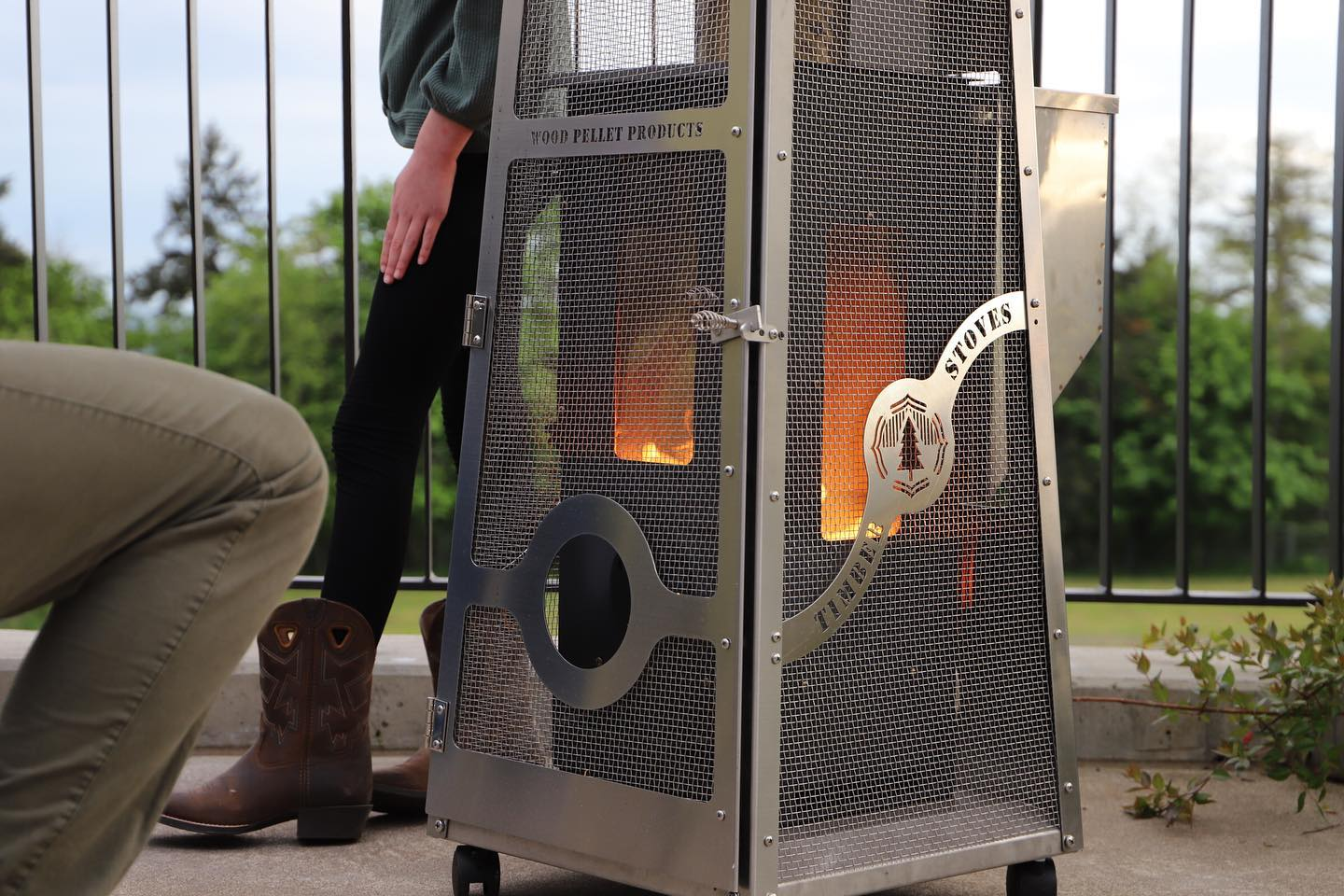 Wood Pellet Products Big Timber Elite® Patio Heater | The ...